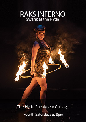 Raks Inferno: Swank at The Hyde - Bellydance and Fire Performance